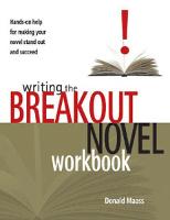 Maass - Writing the Breakout Novel workbook cover
