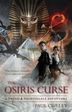 Cover for Paul Crilley's The Osiris Curse