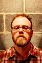 Photo of author Chuck Wendig, looking appropriately sinister.