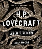 Cover for The New Annotated H.P. Lovecraft by Leslie Klinger. White menacing tentacles surround the text on a black background.