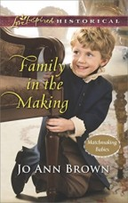 Cover for Family in the Making by Jo Ann Brown.