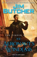 Cover for The Aeronaut's Windlass by Jim Butcher.