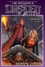 Cover for Down Town by Jim Butcher, a Harry Dresden comic.