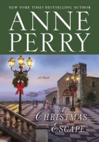 Cover for A Christmas Escape by Anne Perry.