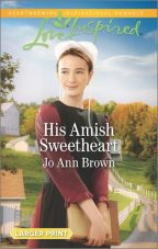 Cover for His Amish Sweetheart by Jo Ann Brown.