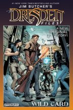 Cover for Jim Butcher's Wild Card, a Dresden Files graphic novel.