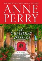 Cover for A Christmas Message by Anne Perry.