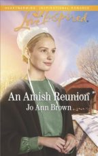 Cover for An Amish Reunion by Jo Ann Brown.