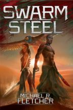 Cover of Swarm and Steel by Michael Fletcher.