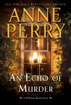 Cover of An Echo of Murder by Anne Perry.