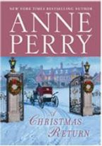 Cover of Anne Perry's A Christmas Return.