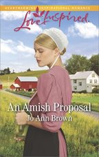 Cover of An Amish Proposal by Jo Ann Brown.