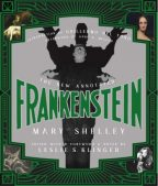 Cover of The New Annotated Frankenstein edited by Leslie S. Klinger.