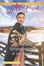 Cover of An Amish Arrangement by Jo Ann Brown.