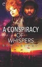 Cover of A Conspiracy of Whispers by Ada Harper.