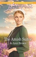 Cover of The Amish Suitor by Jo Ann Brown.