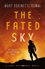 Cover of The Fated Sky by Mary Robinette Kowal.