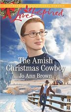 Cover of The Amish Christmas Cowboy by Jo Ann Brown.