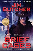 Cover of Brief Cases by Jim Butcher.