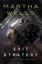 Cover of Exit Strategy by Martha Wells.